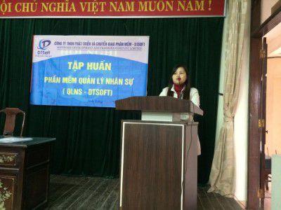Cho thuê laptop tại Đà Nẵng tập huấn phần mềm quản lý nhân sự
