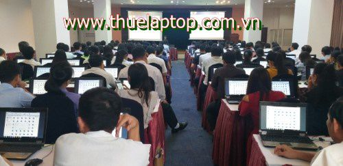Cho thuê laptop phục vụ tập huấn phần mềm báo cáo viên, tuyên truyền viên giỏi 2021 tại Hà Nội